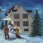 À la veille de Noël, 16x20