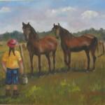 Les chevaux de Marie-Christine, 11x14