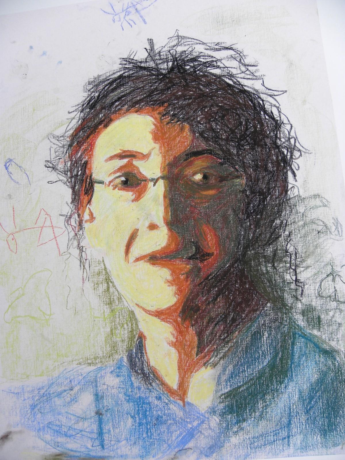 L'autoportrait, 17.5x23